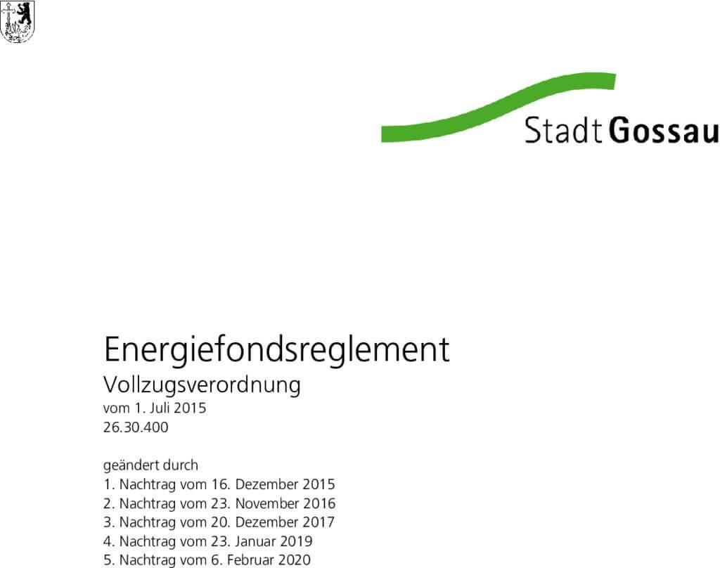 thumbnail of Vollzugsverordnung Energiefonds Reglement_inkl._5._Nachtrag